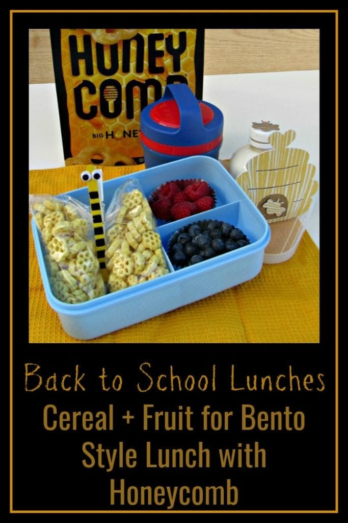 """Back to School Lunch Idea: Honeycomb's for the """"Bee""""st Lunch!"""