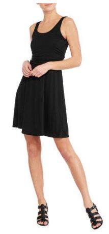 Faded Glory Women's Easy Knit Shirred Flip Flop Dress