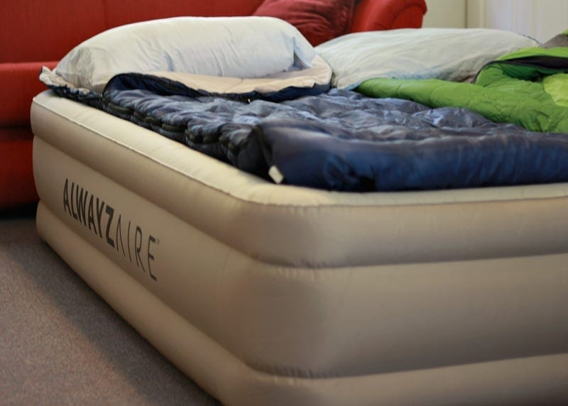 Fortech Airbed with Alwayzaire Built in Pump