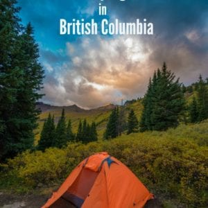 Check out this list of 40+ free camping sites in British Columbia to camp on a budget in the Northwest