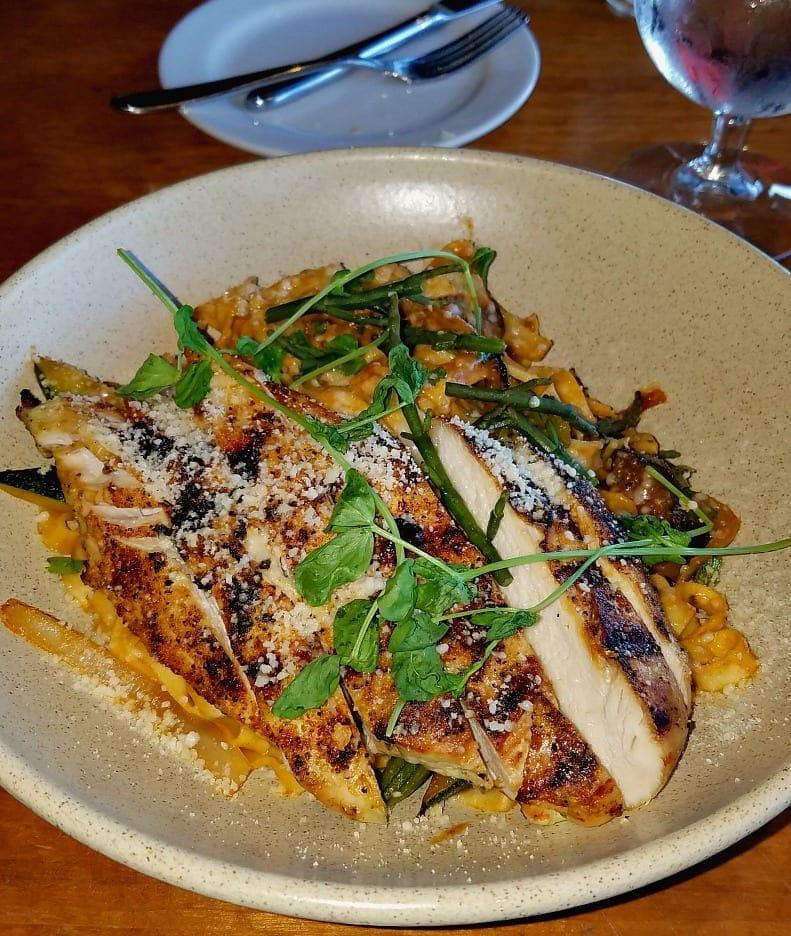 Handmade pasta at Alderbrook Resort
