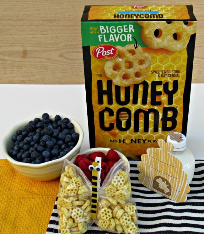 """Back To School Lunch Idea: Honeycomb's For The """"Bee""""st"""