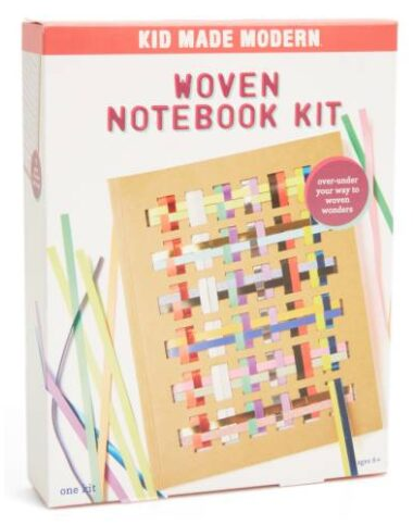 Kid Made Modern Woven Notebook Kit