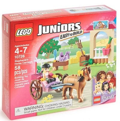 LEGO Juniors Stephanie's Horse Carriage