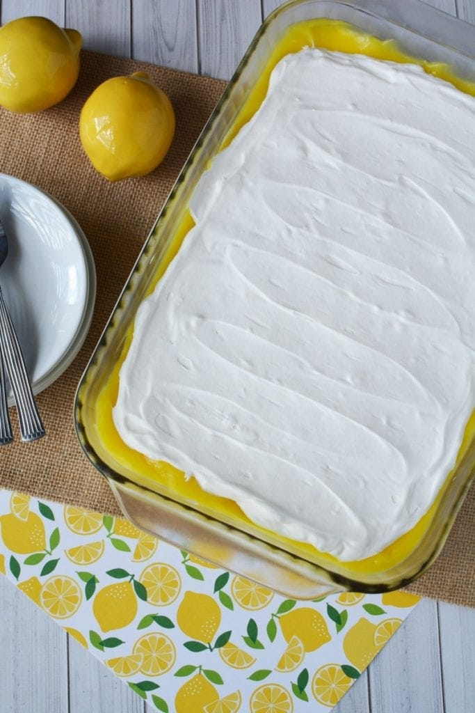 Lemon + Cream Cheese for a Simple & Easy Light Dessert