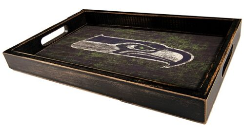 NFL Distressed Serving Tray