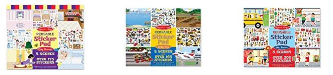 Melissa Doug Sticker Pads