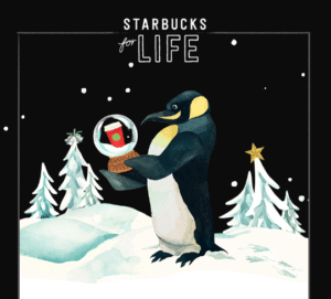 Starbucks Contest - Win Starbucks for Life