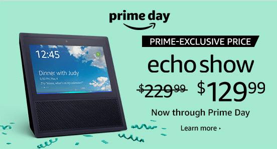 Echo Show Sale