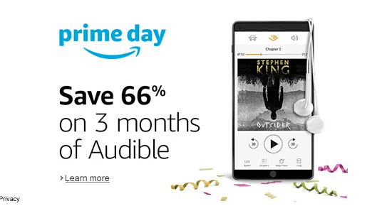 Audible Discounted Membership For Prime Day
