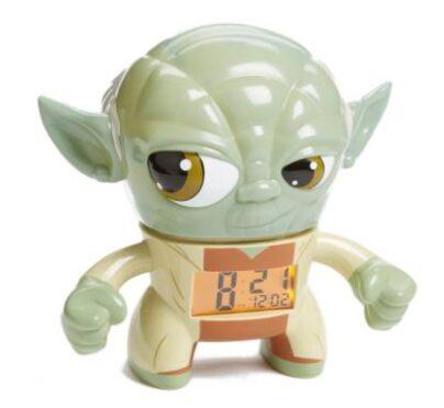 Star Wars Yoda' Light-Up Alarm Clock $11.98 (Reg $29.99)