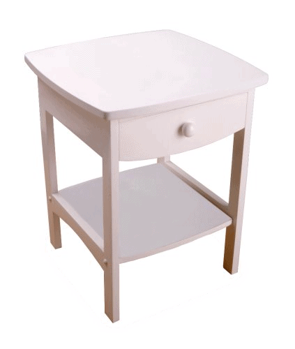 Winsome Wood End Table/Night Stand with Drawer