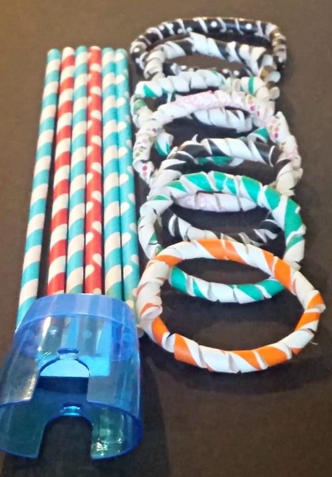 Diy Straw Bracelets Simple Yet Fun Jewelry For Kids