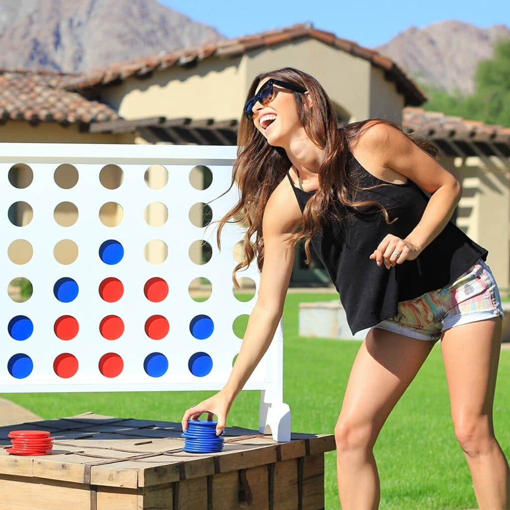 Giant Lawn Connect 4 Game