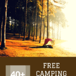 Check out these 40+ campground sites for free camping in Montana to save money on your camping trip