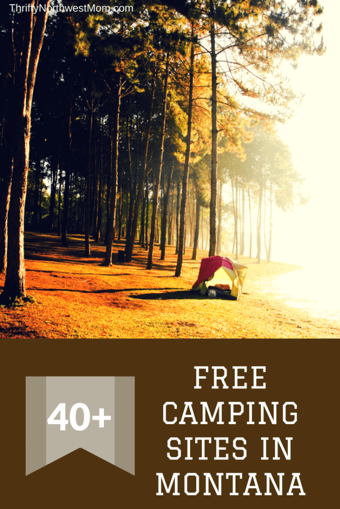 Free Camping in Montana - 40+ Campgrounds to Camp for Free