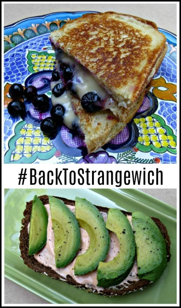 #BackToStrangewich – Blueberry Grilled Cheese Sandwich Recipe & More!