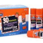 Elmer's Washable All-Purpose School Glue Sticks, 30 Pack