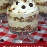 Girl Scout Tagalong Cookie Dessert Trifle