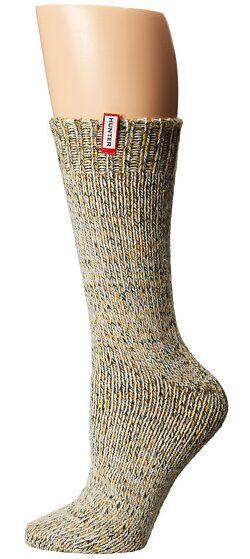 Hunter Chunky Mouline Sock