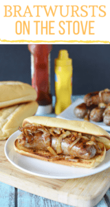 Bratwurst Recipe - How to make Brawts on the Stove