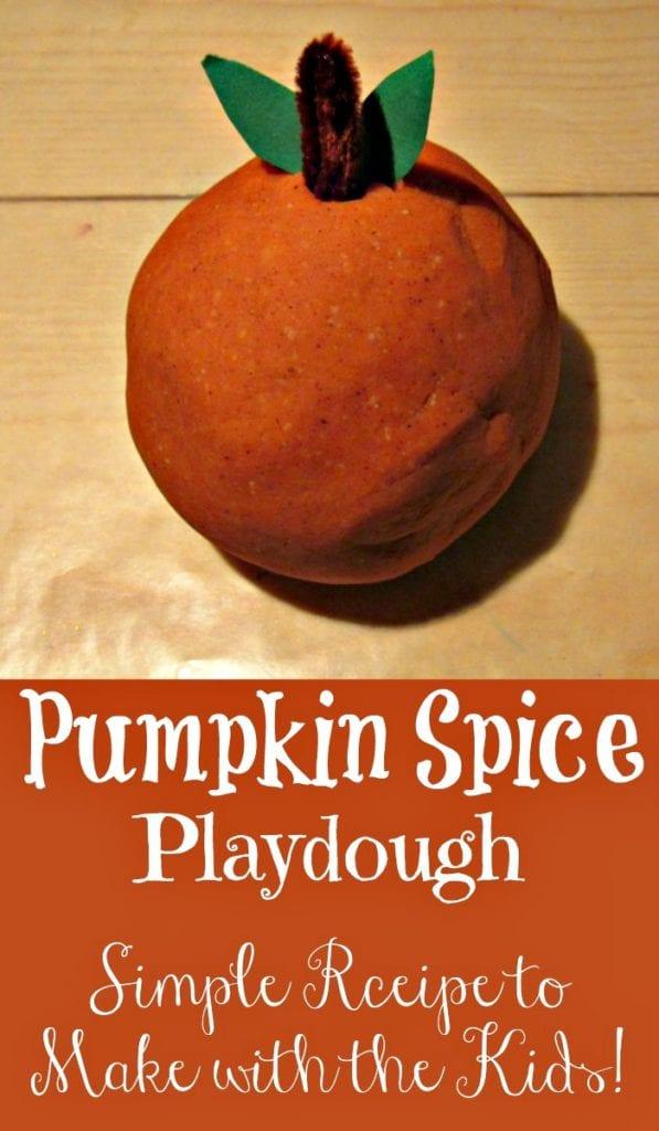 Pumpkin Pie Playdough – Frugal Fall Fun For Kids!