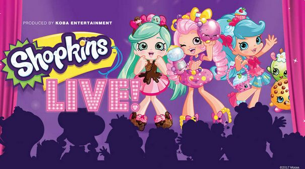 Shopkins Live Discount Tickets