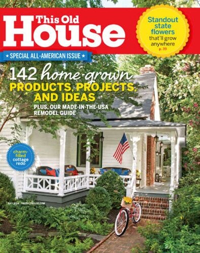 This Old House Magazine Sale – $5 for a One Year Subscription!