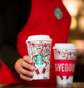 Starbucks Promo - BOGO Holiday Drinks + Starbucks Discount Offer