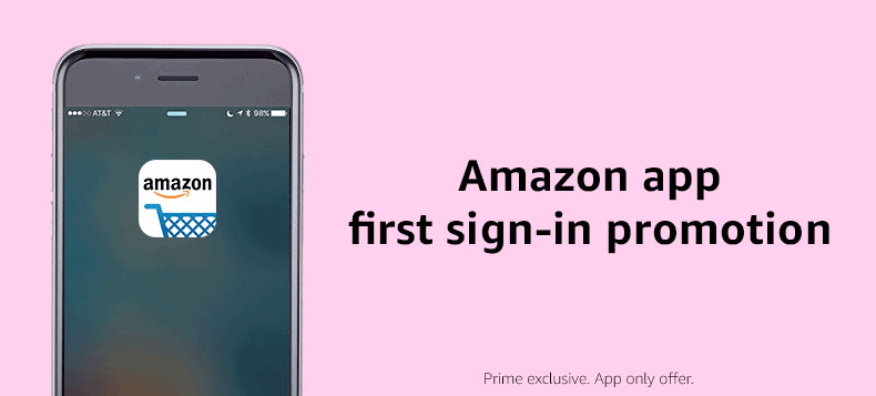Amazon $10 Credit for Signing up for Amazon App