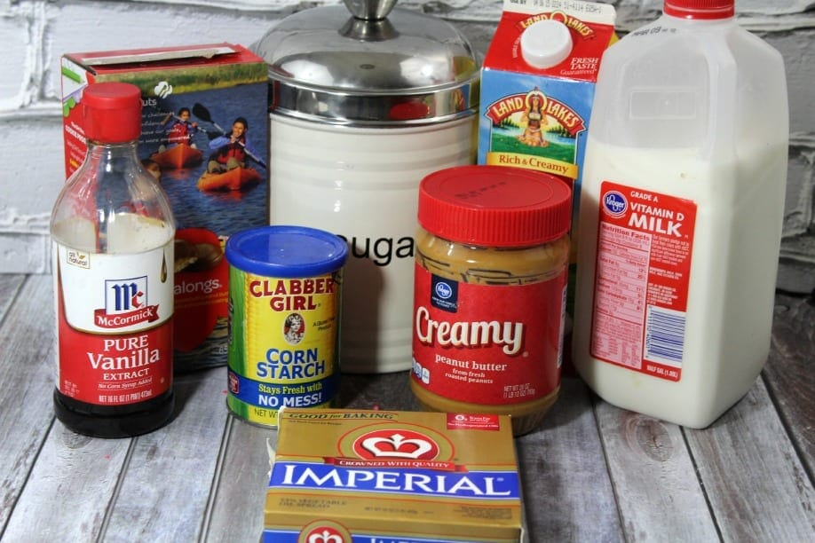 Tagalong Trifle ingredients