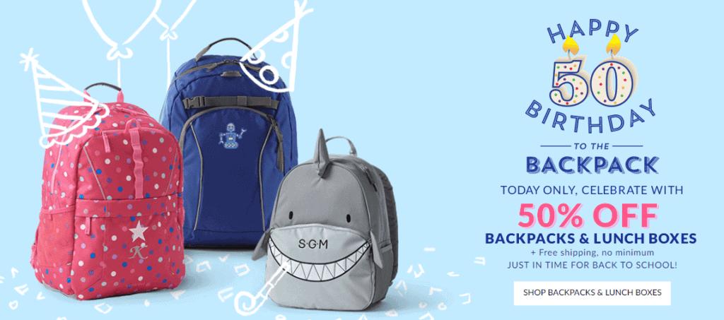 Lands End Backpack Sale – $9.98 – Lifetime Guarantees