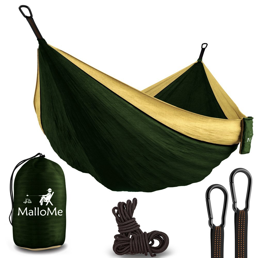 Double Portable Camping Hammock  (Highly Rated)!