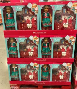 American Girl Kit Doll at Costco