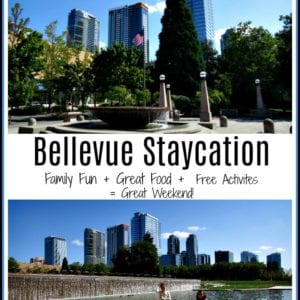 Bellevue Staycation - Exploring the Eastside of the Puget Sound. A family friendly destination in the NW with both urban and outdoor adventures