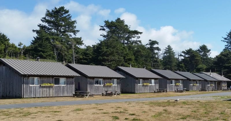 Cabins at Kalaloch Campground