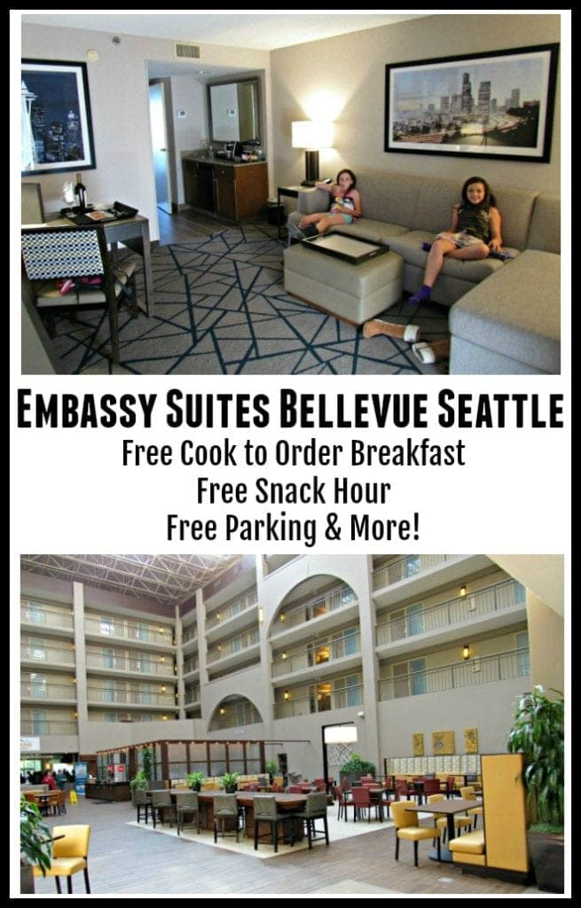 Embassy Suites Bellevue Seattle – Great Family Friendly Hotel Option