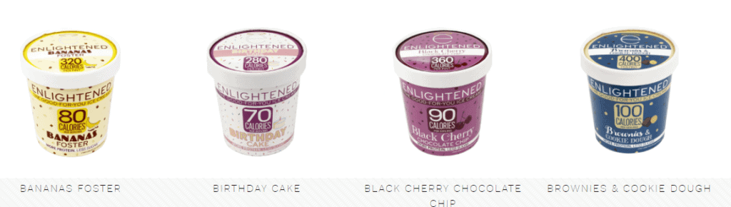 Free Pint of Enlightened Ice Cream With This Coupon!