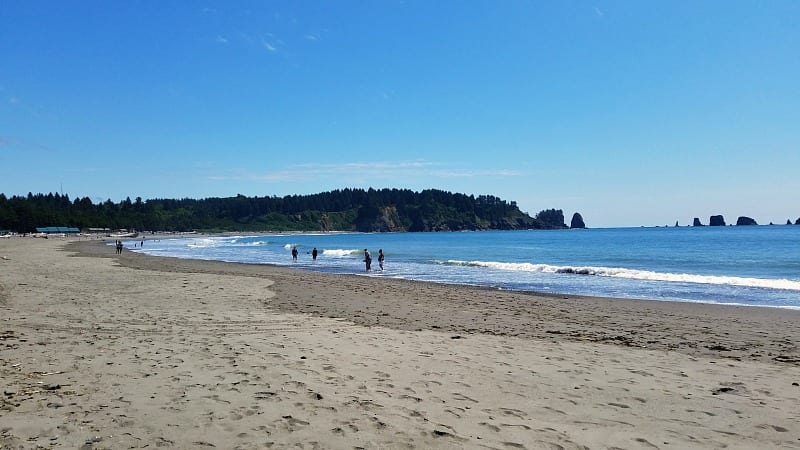 First Beach & Quileute Resort on the Olympic Peninsula