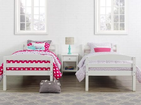 Better Homes and Gardens Twin Wood Bunk Bed (or 2 Twin Beds) $159!