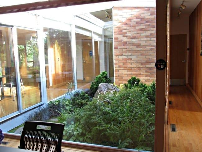 atrium at Bellevue Botanical Garden