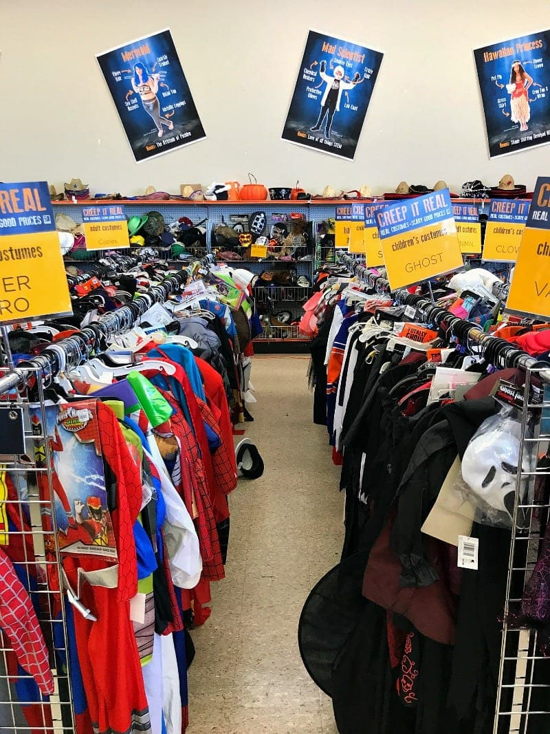 Largest Goodwill Halloween Store In America - Great Deals on ...
