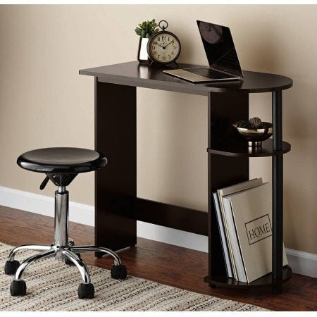 Computer Desk with Side Storage $14 (Reg $19.88)
