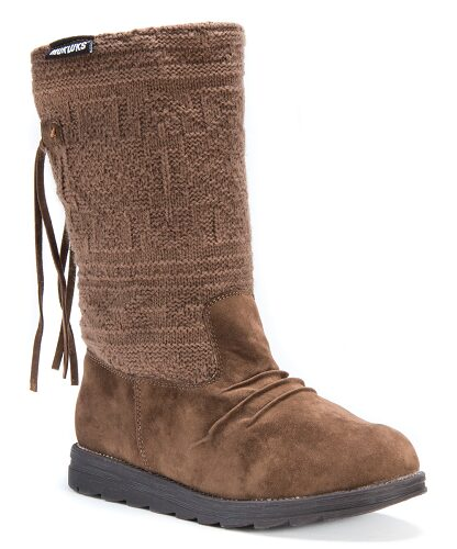 Muk Luks Aged Rope Barbara Pull-On Boot $29.99 (Reg $89)