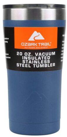 Ozark Trail 20-Ounce Double-Wall, Vacuum-Sealed Tumbler – $3.26/ea or 30 oz for $3.85/ea