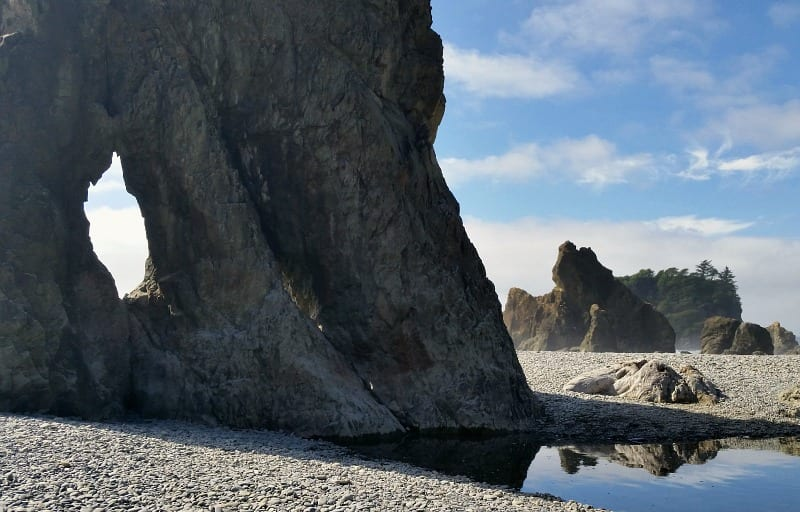 Ruby Beach Sea Stacks at Olympic National Park