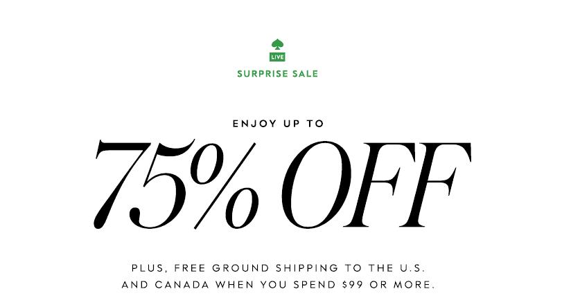 Kate Spade Surprise Sale