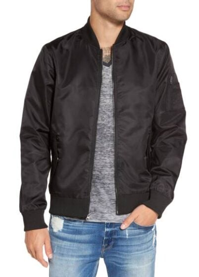 The Rail Nylon Bomber Jacket $34.75 (Reg $69.50)