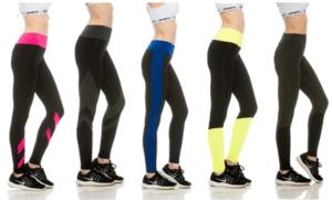33 Flex Womens Colorblock Activewear Pants