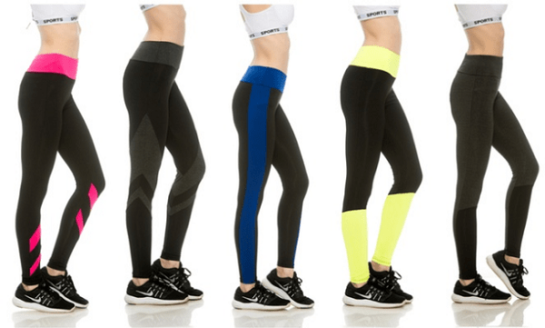 33 Flex Womens Colorblock Activewear Pants